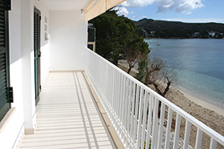 Renovated Balcony with Sea Views